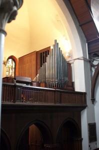 The George and Laura Pierce Memorial Organ built by Daniel Lemieux & Associates